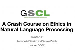 Ethics Crash Course (Resources)